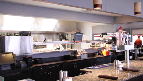 Hershey Grill - View of the Kitchen