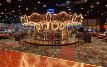 Carousel in Hershey Lodge for New Years Carnival