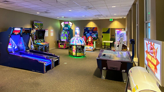 The Arcade at the Hershey Lodge