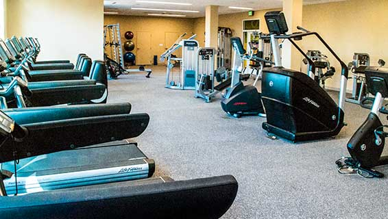 The Fitness Center at the Hershey Lodge