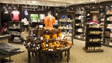 Hershey's signature plush and apparel