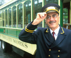Hershey Trolley Works Conductor